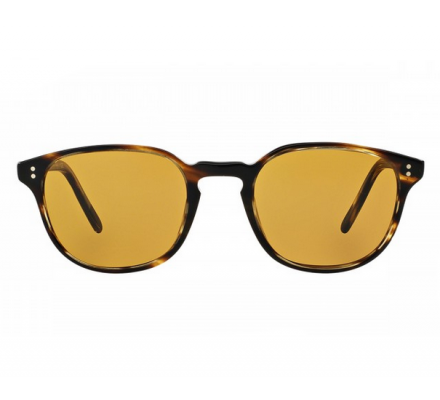 Oliver Peoples Fairmont SUN 5219S - Cocobolo with Champagne Photochromic Glass 49-21