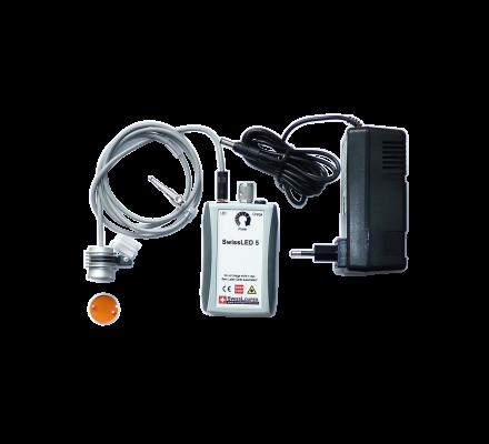 SandyGrendel LED-5 mit Orangefilter