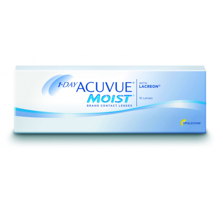1-Day Acuvue Moist - 10 Tageslinsen