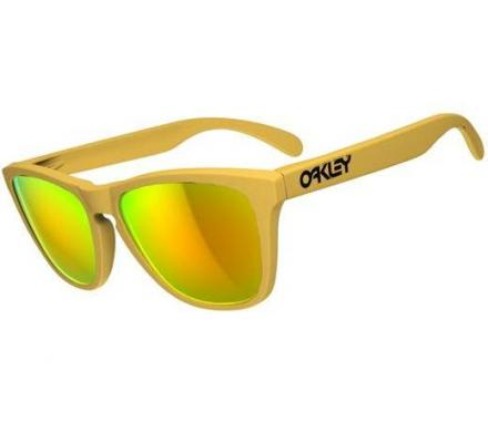 Oakley Frogskins Summit Collection 24-343 Pikes Gold/Fire Iridium Sonnenbrille