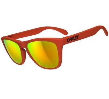 Oakley Frogskins Summit Collection 24-344 Mesa Orange/Fire Iridium Sonnenbrille