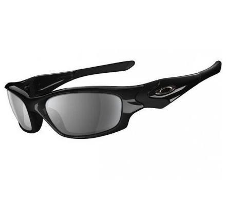 Oakley Straight Jacket Polished Black Sonnenbrille
