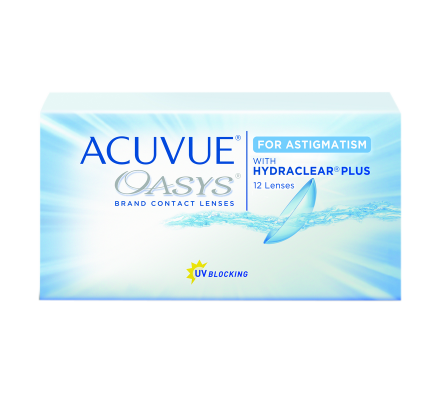 Acuvue Oasys for Astigmatism - 12 Lenti due settimana