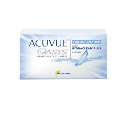 Acuvue Oasys for Astigmatism - 6 Lenti due settimana