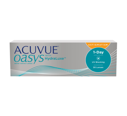 ACUVUE OASYS 1-Day with HydraLuxe for Astigmatism - 30 Lenti giornaliere