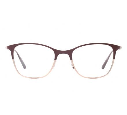Oliver Peoples Abbe - Burgundy/Soft Rose Gold 48-19