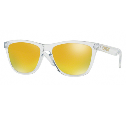 Oakley Frogskins Polished Clear OO9013-A4