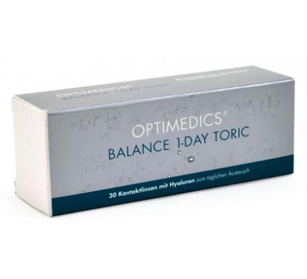 OPTIMEDICS BALANCE 1-DAY TORIC - 30 Tageslinsen