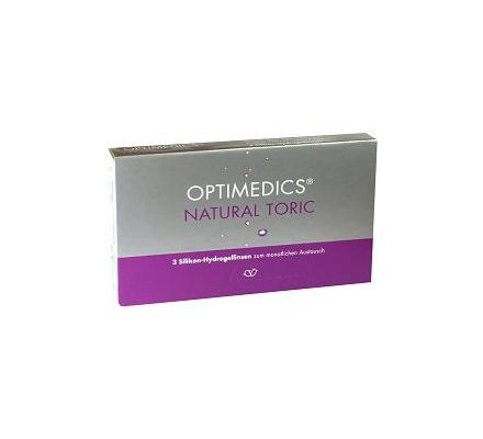 OPTIMEDICS Natural Toric - 6 Monatslinsen