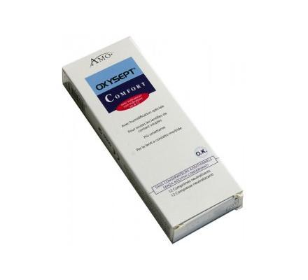 Oxysept Comfort Neutralisationstabletten - 12 Tabletten