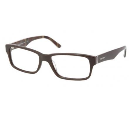 Prada PR 16MV - BRQ1O1 53-16 Tobacco/Military Green