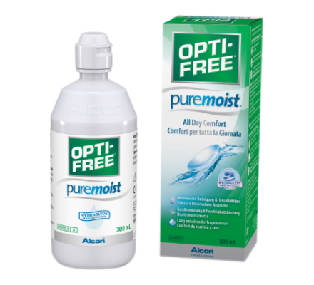 OptiFree PureMoist ALCON 300ml Opti-Free & Behälter (EverMoist)