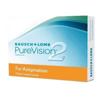 Pure Vision 2 HD for Astigmatism - 3 Monatslinse