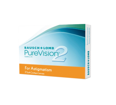 Pure Vision 2 HD for Astigmatism - 3 Monatslinse