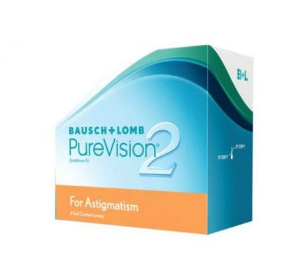 Pure Vision 2 HD for Astigmatism - 6 Monatslinsen