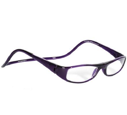 Clic Magnet Lesebrille Ego Purple