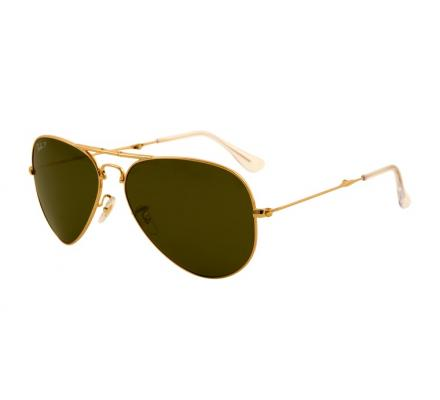 Ray-Ban RB3479 - 001-58 Polarized Green 58-14