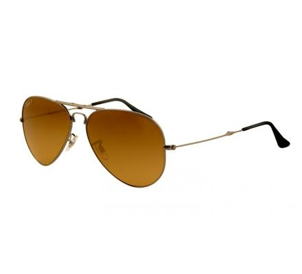 Ray-Ban RB3479 - 004-M2 Polarized Brown 58-14
