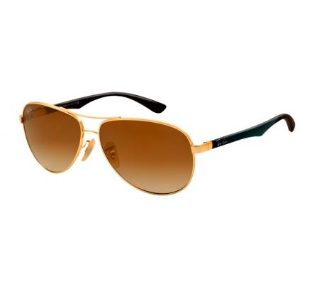 Ray-Ban RB8313 - 001-51 Arista / Gradient Brown 58-13