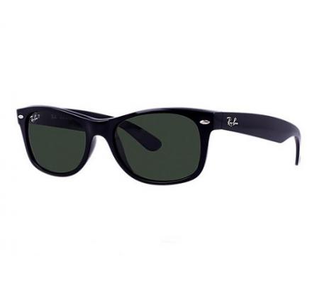 Ray-Ban New Wayfarer RB2132 - 901/58 Polarized 55-18
