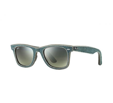 Ray-Ban ORIGINAL WAYFARER 50-22 RB2140 11663M Green Faded Green + A.I.