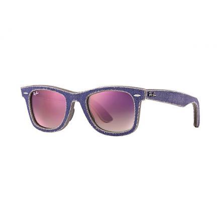 Ray-Ban ORIGINAL WAYFARER 50-22 RB2140 1167S5 Clear Faded Violet