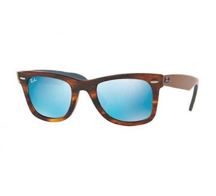 Ray-Ban ORIGINAL WAYFARER 50-22 RB2140 117617 Grey Mirror Blue