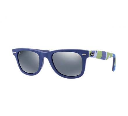 Ray-Ban ORIGINAL WAYFARER 50-22 RB2140 606140 Silver Mirror