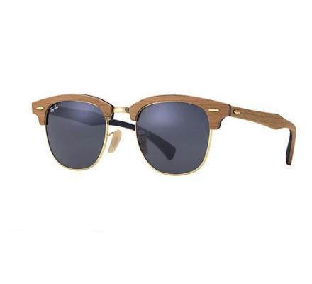 Ray-Ban Clubmaster RB3016M - 1180R5 Wood Special Edition