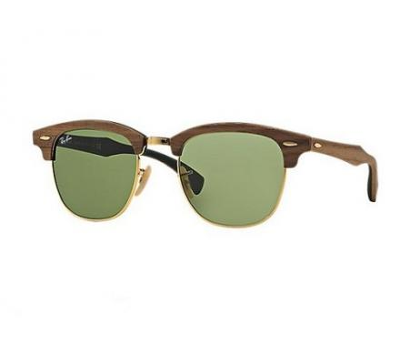 Ray-Ban Clubmaster RB3016M - 11824E Wood Special Edition