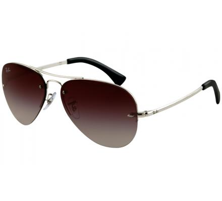 Ray-Ban 59-14 RB3449 003/8G Silver