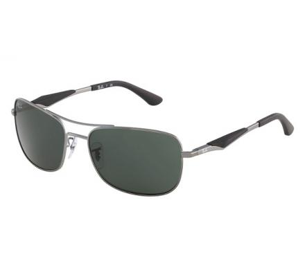 Ray-Ban RB3515 - 004/71 Grey/Green 61/17