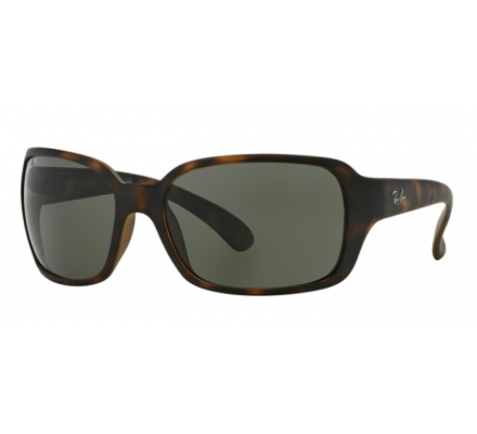 RAY BAN RAY-BAN Damen Sonnenbrille » RB4068«, braun, 894/58 - braun/grün