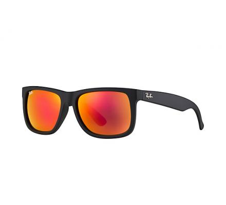 Ray-Ban Justin RB4165 - 622/6Q Yellow/Red Mirr Multilayer 54-16