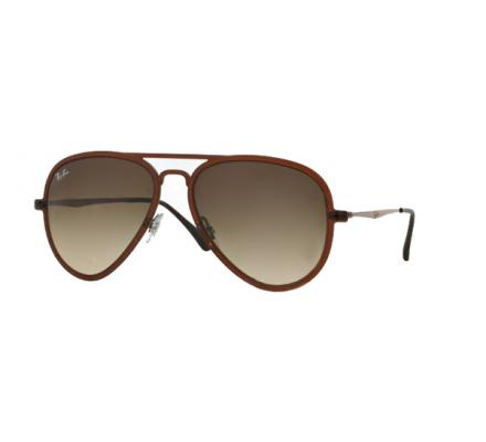 Ray-Ban RB4211 - 612213 Brown Faded 56/17