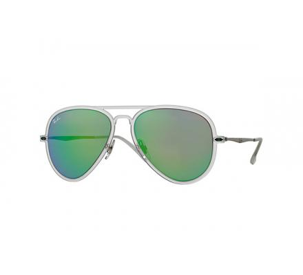 Ray-Ban RB4211 - 646/3R Grey Mirror Green 56/17