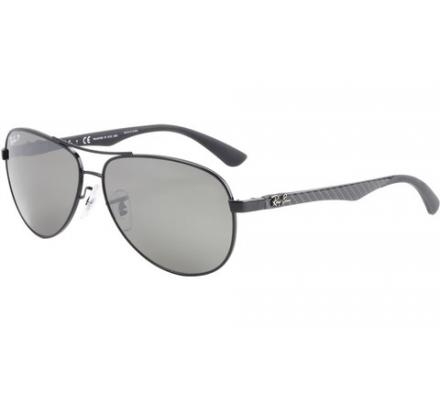 Ray-Ban RB8313 - 002/K7 Grey Mirror Black 58-13