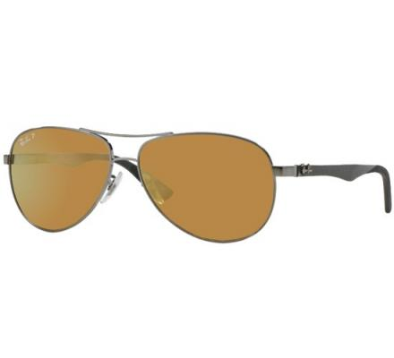 Ray-Ban RB8313 - 004/N3 Brown Mirror Gold 61-13