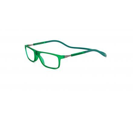Click Slastik Llevant Magnet Lesebrille - Green 10LS