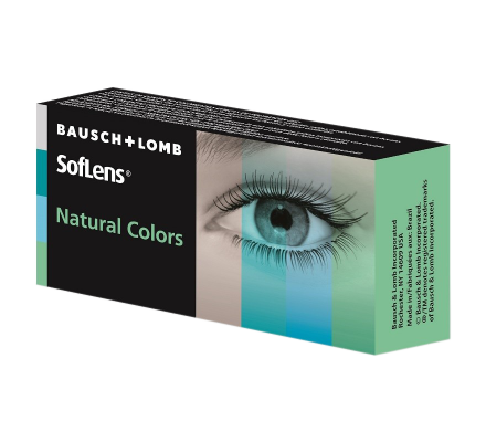 Soflens Natural Colors - 2 Linsen
