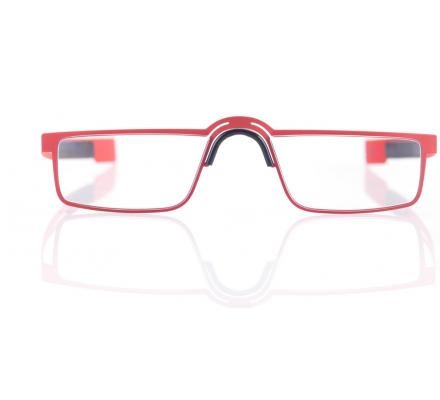 Strada del Sole Lesebrille - Red Matt - 48-25-148
