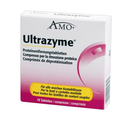 Ultrazyme Proteinentfernung - 10 Tabletten