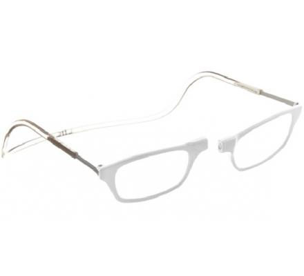Clic Magnet Lesebrille Classic CPW White