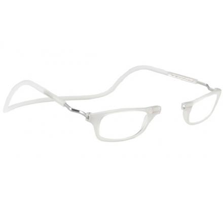 Clic Magnet Lesebrille Frosted XL-CRFRB Clear