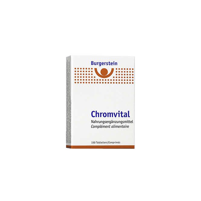 Burgerstein Chromvital 150 Tabletten