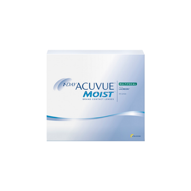 Image of 1-Day Acuvue Moist Multifocal - 90 Tageslinsen