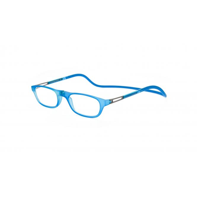 Click Slastik Garbi Magnet Lesebrille - Turquoise 14GS