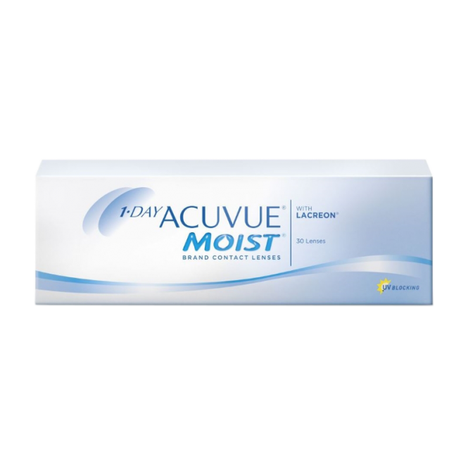 Image of 1-DAY Acuvue Moist - 30 Tageslinsen