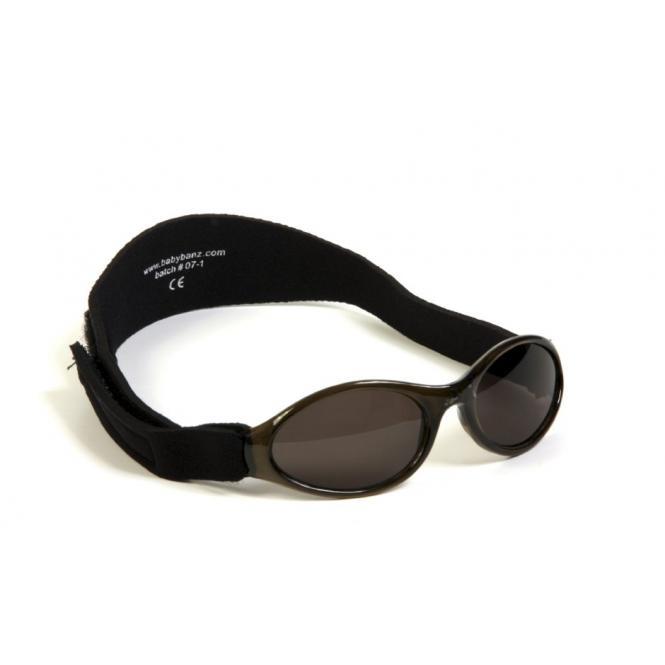 BabyBanz Black (0-2 Jahre) Babysonnenbrillen von Baby Banz