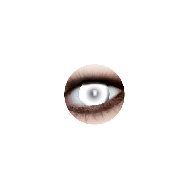 Mystery Lens Linsen Blind White 922 - 2 Kontaktlinsen